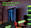 Тир башня Dark Wars B3240G | Набор пистолет бластер с мишенью, фото 2