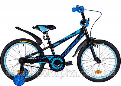 """Велосипед 18"""" Formula SPORT 2021 (біло-зелений з сірим)"""