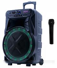 Акустическая система Goldteller GT-6025 аккумулятор Bluetooth с микрофоном 60Вт   Беспроводная колонка