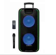 Акустическая система Goldteller GT-6067 аккумулятор Bluetooth с микрофоном 120Вт   Беспроводная колонка