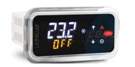 (UCHBP00000100) Контроллер μChiller CAREL, 24 Vac/dc, врезной монтаж, Bluetooth