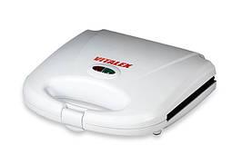 Сендвичница Vitalex VL-5007 антипригарное покрытие автоматическое отключение бытовой тостер