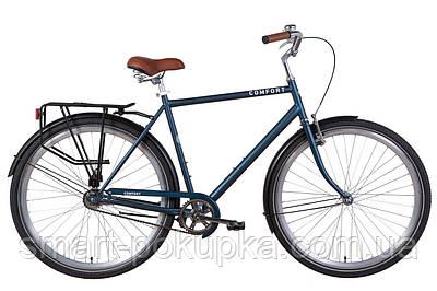 """Велосипед 28"""" Dorozhnik COMFORT MALE 2021 (малахітовий (м))"""