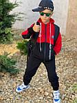 Детский костюм, турецкая двунить, р-р 128-134;140-146;152-158 (красный), фото 3