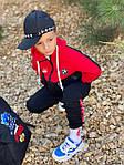Детский костюм, турецкая двунить, р-р 128-134;140-146;152-158 (красный), фото 6