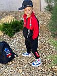 Дитячий костюм, турецька двунить, р-р 128-134;140-146;152-158 (червоний), фото 5