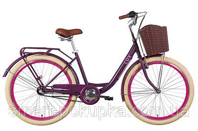"""Велосипед 26"""" Dorozhnik LUX планет. 2021 (зелений)"""