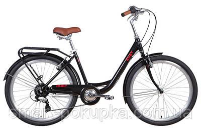 """Велосипед 26"""" Dorozhnik RUBY 2021 (червоний)"""