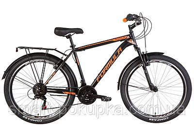 """Велосипед 26"""" Formula MAGNUM 2021 (чорно-помаранчевий (м))"""