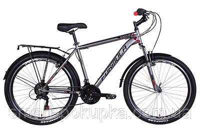 "Велосипед 26"" Formula MAGNUM 2021 (сірий з червоним)"