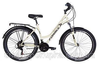 """Велосипед 26"""" Formula OMEGA 2021 (бежевий)"""