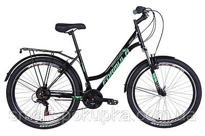 "Велосипед 26"" Formula OMEGA 2021 (чорно-м'ятний)"