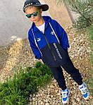 Дитячий костюм, турецька двунить, р-р 128-134;140-146;152-158 (синій), фото 5