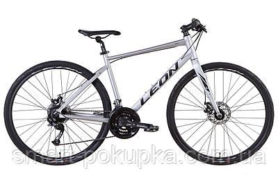 """Велосипед 28"""" Leon HD-80 2021 (сірий (м))"""