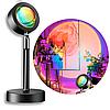 Лампа LED для селфи эффект солнца RGB + пульт, фото 2