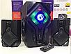 """Акустична система Ailiang UF-DC628C-DT Bluetooth акумуляторна 2х5"""" 40 Вт   Бездротова акустика, фото 2"""