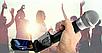 Колонка Temeisheng SL12-14 150Вт беспроводная с видеомикрофоном-суфлером | Караоке спикер bluetooth, фото 2