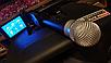 Колонка Temeisheng SL12-14 150Вт беспроводная с видеомикрофоном-суфлером | Караоке спикер bluetooth, фото 4