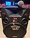Колонка Temeisheng SL12-14 150Вт беспроводная с видеомикрофоном-суфлером | Караоке спикер bluetooth, фото 5