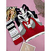 Комплект нижньої жіночої білизни Calvin Klein Modern Cotton топ і сліпи | Біла жіноча білизна, фото 3