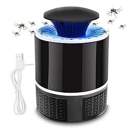 Уничтожитель комаров и насекомых Nova Mosquito Killer Lamp Лампа USB NV-818 Черный | Ловушка для насекомых