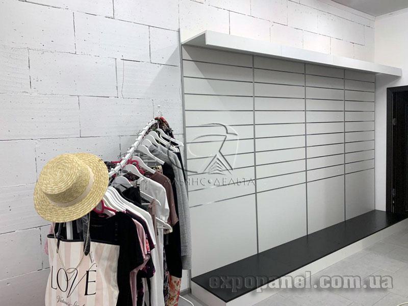 Экспопанель, экономпанель для магазинів одягу, взуття, спорттоварів та ін.