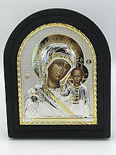 Икона мельхиоровая Божьей Матери