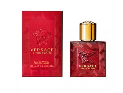 Фужерний елітний парфум для чоловіків Versace Eros Flame edp 30ml, деревні пряні аромати, ОРИГІНАЛ