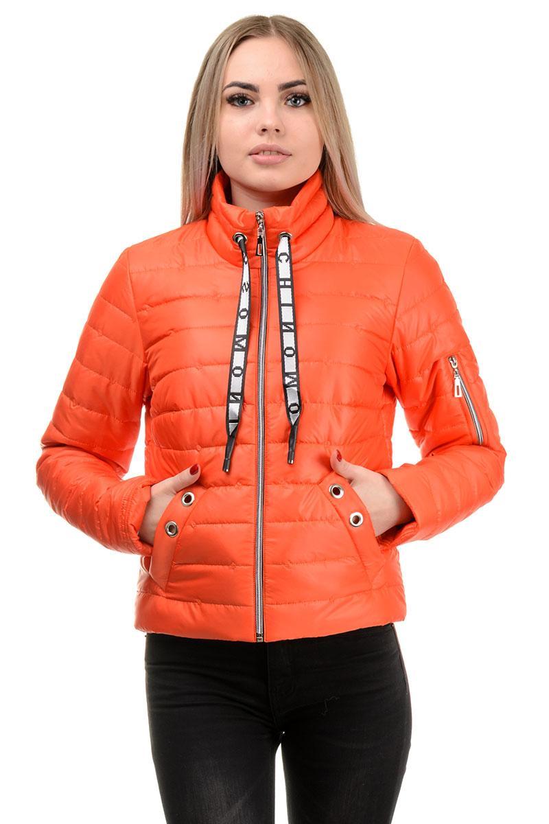 Демісезонна куртка «Ілва», р-ри 42-48, №238 помаранчевий
