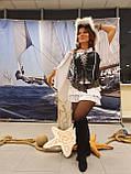 """Костюм """"Піратка чорно-біла"""" напрокат, фото 3"""