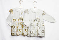 Платье детское трикотажное нарядное.отменное качество Рост 68 - 74. Serkon 859, фото 1