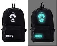 Школьный рюкзак с иллюминацией светится в темноте принт., фото 1