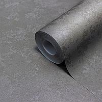 Виниловые обои с горячим тиснением LS Андреас серо-серебристый ТФШ 6-1346 (1,06х10,05 м)