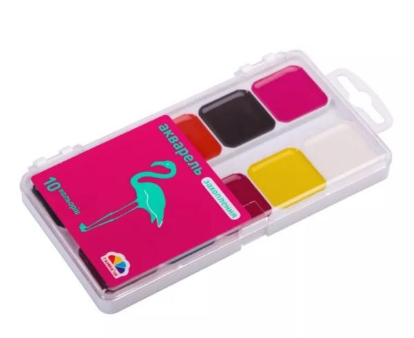 Акварельні фарби Гамма Захоплення 10 кольорів