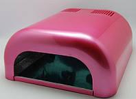 UV Лампа для гелевого наращивания 36W L-02 (серебро, розовый, черный, розовый перламутр, синий) YRE