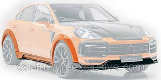 MANSORY Wide body kit for Porsche Cayenne Coupe