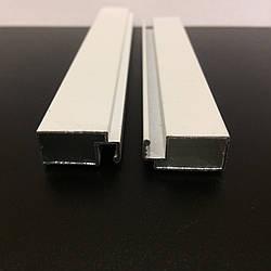 Профиль москитный DL-04 внешний 10х20 Standart RAL 9016 Белый (от 120м)
