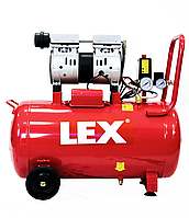 Безмасляный компрессор LEX LXAC50-21LO [ 50 л. | 310 л\мин ]