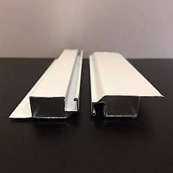 Профиль москитный DL-02 внутренний 11х32 RAL 9003 Белый Premium/Elite (от 120 м)