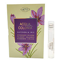 4711 Acqua Colonia Saffron & Iris Одеколон (пробник) 1ml