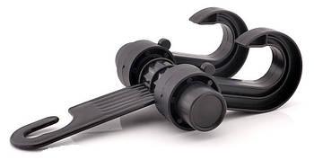 Вешалка-крючек двойная KMS-30 Для сумки и вещей (Крепит. к стойкам подгол-в 2164