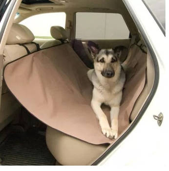 """Захисна накидка заднього сидіння для перевезення собак """"Pet Zoom"""""""