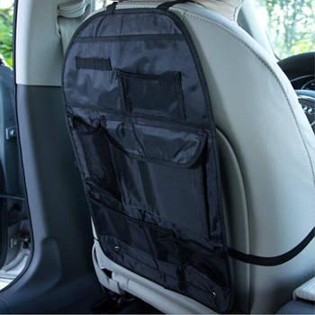 Органайзер на спинку сидіння від забруднення Elegant 100 700 ( чорний/тканина Oxford 600D/60*41см)