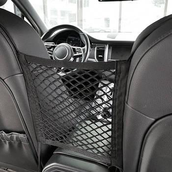 Сетка  карман 30x25см (между сиденьями) Elegant Maxi 100673