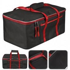 "Сумка в багажник 480х300х200мм черно-красная ткань PVC ""Штурмовик"" АС-1538"