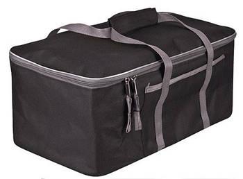"""Сумка в багажник 480х300х200мм черно-серая ткань PVC """"Штурмовик"""" АС-1538"""