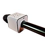 Беспроводной bluetooth микрофон для караоке MICGEEK Q9 блютуз микрофон караоке Черный (3473), фото 3