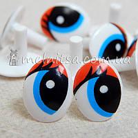 Глазки для мягких игрушек ткань курточная бежевая купить