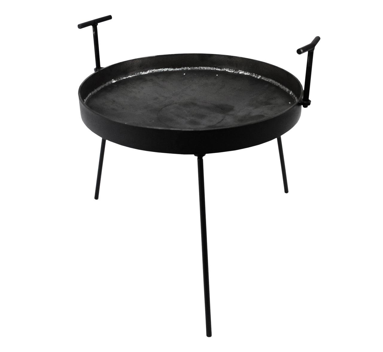 Туристична диск-сковорода для відкритого вогню 45 см