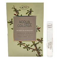 4711 Acqua Colonia Myrrh & Kumquat Одеколон (пробник) 1ml